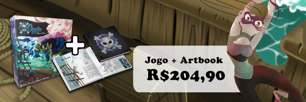 Oggin - Rota do Tesouro + Artbook